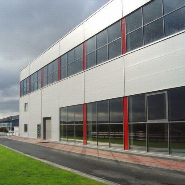 Víceúčelová skladovací hala s administrativní budovou 0002